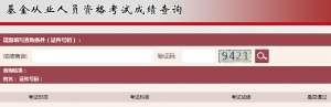 2020年11月基金从业资格考试成绩查询入口:中国证券投资基金业协会